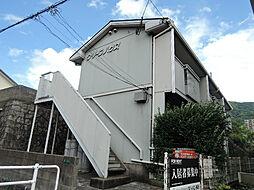 福岡県北九州市八幡西区東鳴水3丁目の賃貸アパートの外観