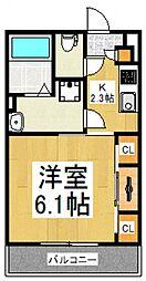 (仮称)リブリ・小平たかの台[2階]の間取り