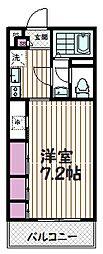 リブリ・武蔵浦和[1階]の間取り