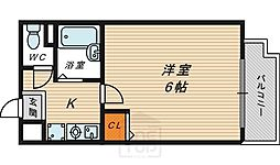 リーガル都島[3階]の間取り