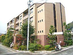 京都府京都市左京区松ケ崎海尻町の賃貸マンションの外観
