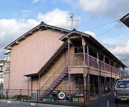 京都府京都市右京区梅津罧原町の賃貸アパートの外観