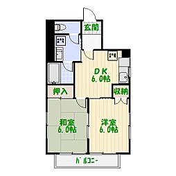 ソア—ハウス[5階]の間取り