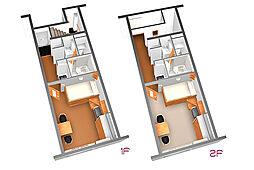 レオパレスハクジュ[2階]の間取り