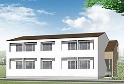 新築プルーヌ[1階]の外観