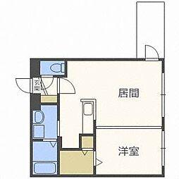 モルティーニ東札幌[4階]の間取り
