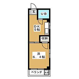 シティハイツスズキ[3階]の間取り
