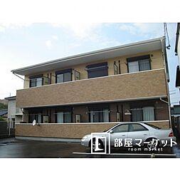愛知県豊田市小坂本町6丁目の賃貸アパートの外観
