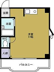 倉橋マンション[4階]の間取り