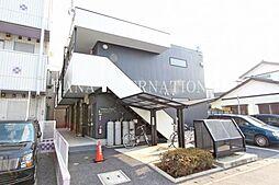埼玉県草加市北谷3の賃貸アパートの外観
