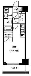 ポルトパルティーレ横浜[6階]の間取り