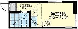 メゾンド・ ソレイユ[1階]の間取り