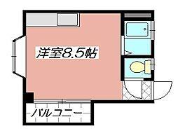 第2コーポあけみ[301号室]の間取り