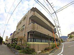 兵庫県宝塚市川面3丁目の賃貸マンションの外観