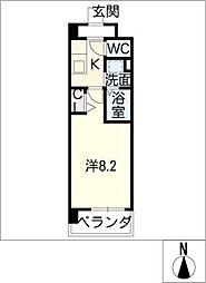 フラワーズドリームII[9階]の間取り