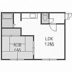 セブンIIハウス[2階]の間取り