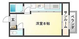 ボクス[2階]の間取り