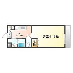 福富GRADEマンション[1階]の間取り