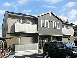 滋賀県大津市雄琴6丁目の賃貸アパートの外観