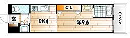 No.47 プロジェクト2100小倉駅[15階]の間取り
