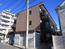埼玉県川口市栄町1丁目の賃貸マンションの外観