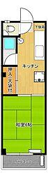 小谷マンション[3階]の間取り