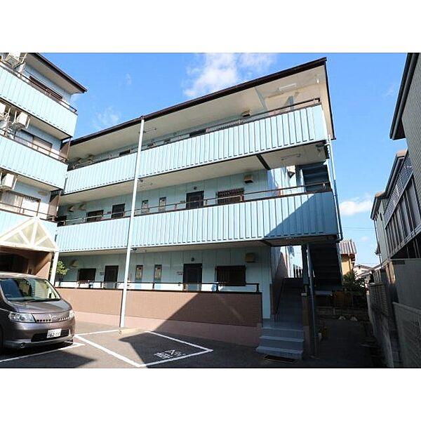 奈良県奈良市西大寺北町3丁目の賃貸マンションの外観