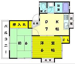 花水樹[2階]の間取り
