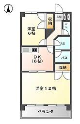 C・ISLAND 18[2階]の間取り