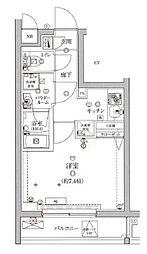 東京メトロ丸ノ内線 東高円寺駅 徒歩5分の賃貸マンション 1階1Kの間取り