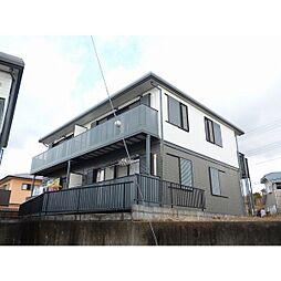 静岡県富士市三ツ沢の賃貸アパートの外観