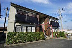 福岡県遠賀郡水巻町二東1の賃貸アパートの外観