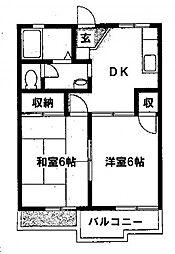 ユングフラウ[2階]の間取り
