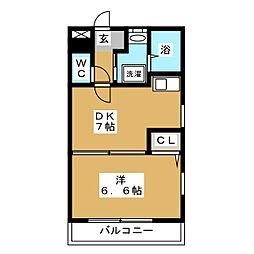 TOHKOビル[3階]の間取り