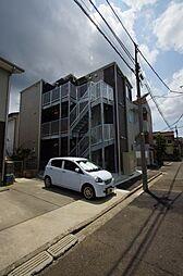 神奈川県横浜市港北区大曽根1の賃貸アパートの外観