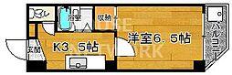 京都府京都市中京区西ノ京円町の賃貸マンションの間取り