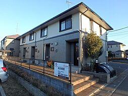 埼玉県北足立郡伊奈町大字大針の賃貸アパートの外観