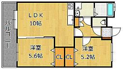 J−スクエア[4階]の間取り