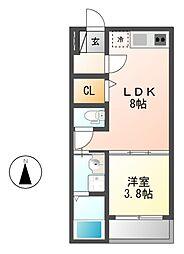Campanella(カンパネラ)[2階]の間取り