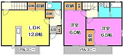 [テラスハウス] 東京都練馬区西大泉6丁目 の賃貸【/】の間取り
