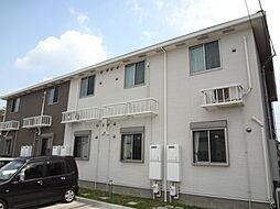 愛知県名古屋市守山区今尻町の賃貸アパートの外観