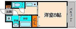 コンフォート生江[2階]の間取り