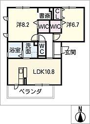 仮)D−room豊田市寺部[2階]の間取り