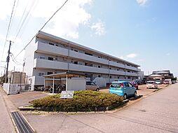 新潟県新発田市富塚町2丁目の賃貸マンションの外観