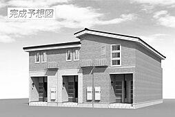 愛媛県松山市保免西1丁目の賃貸アパートの外観