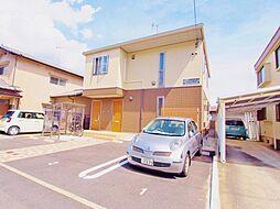 広島県安芸郡熊野町出来庭7の賃貸アパートの外観