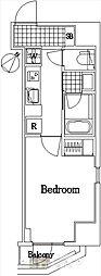 ザ・レジデンス・オブ・トーキョーC18[2階]の間取り