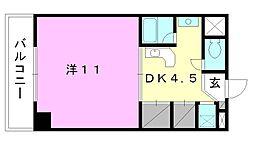 コンフォルト天山[503 号室号室]の間取り