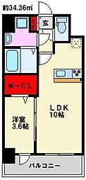 仮)弥永5丁目マンション[206号室]の間取り
