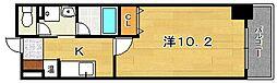 大阪府茨木市中穂積3丁目の賃貸マンションの間取り